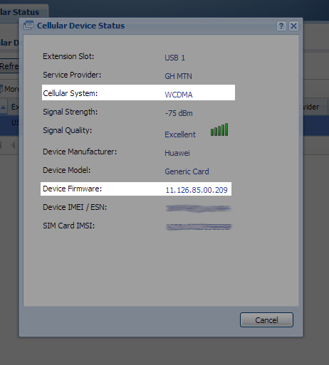 Setting up a 3G Modem with a ZyWALL USG Firewall – Paul & Ali Federwitz
